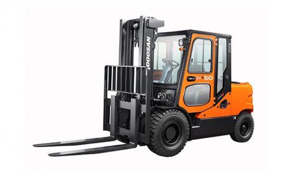 Xe nâng dầu Doosan 4 – 5 tấn