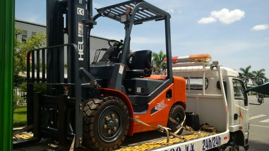 Giới thiệu xe nâng Heli 1-3,5 tấn bản K2 Series.