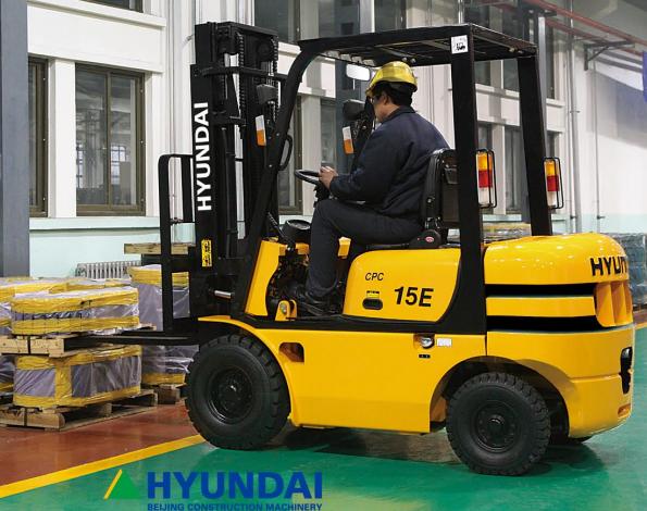 các dòng sản phẩm xe nâng Hyundai
